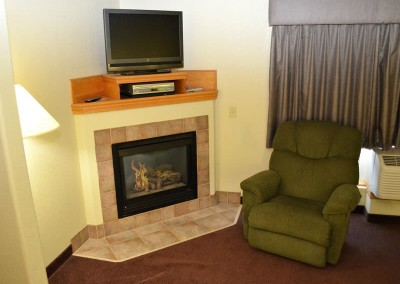 Dole Suite Fireplace